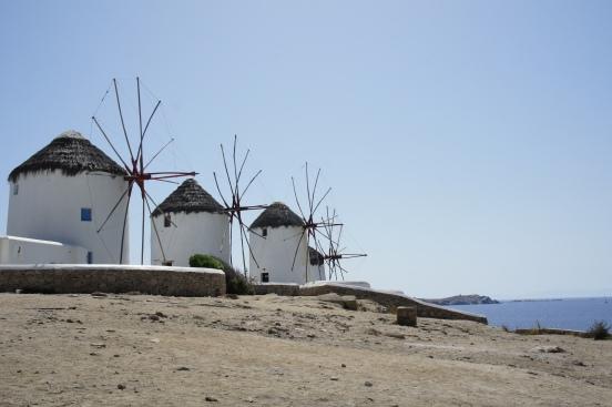 Chora windmills Mykonos