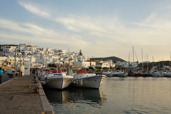 Naoussa harbour Paros