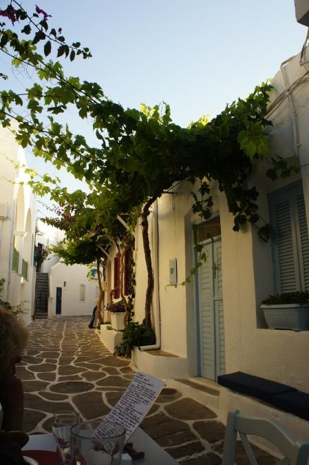 Naoussa street Paros