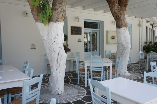 Naoussa terrace Paros