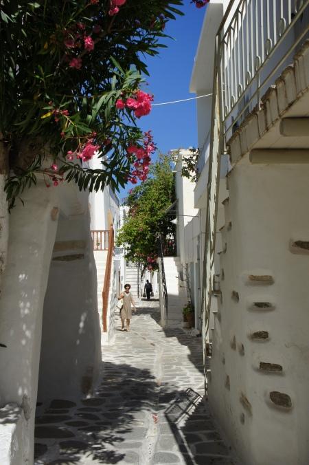 Street Parikia Paros