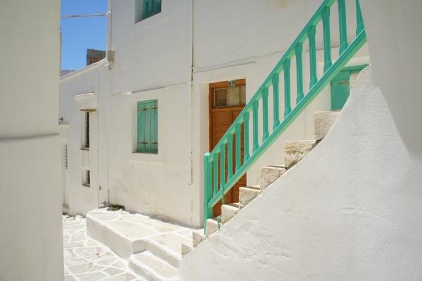 Lefkes street Paros