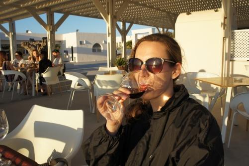 Santorini Santo Wines tasting