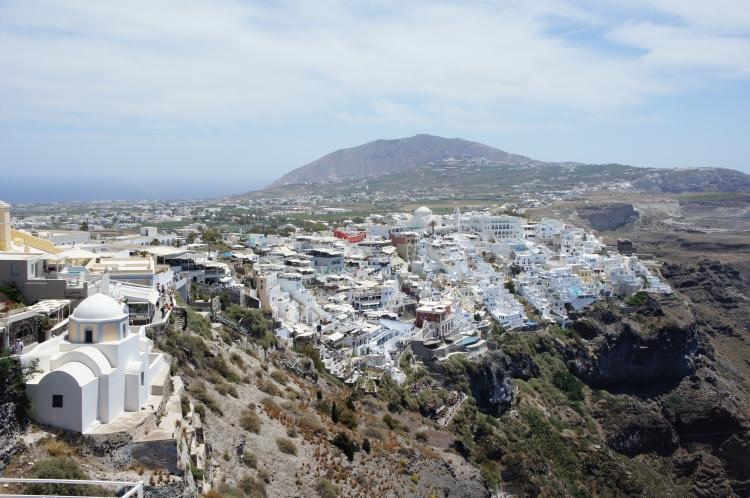 Fira cliff Santorini