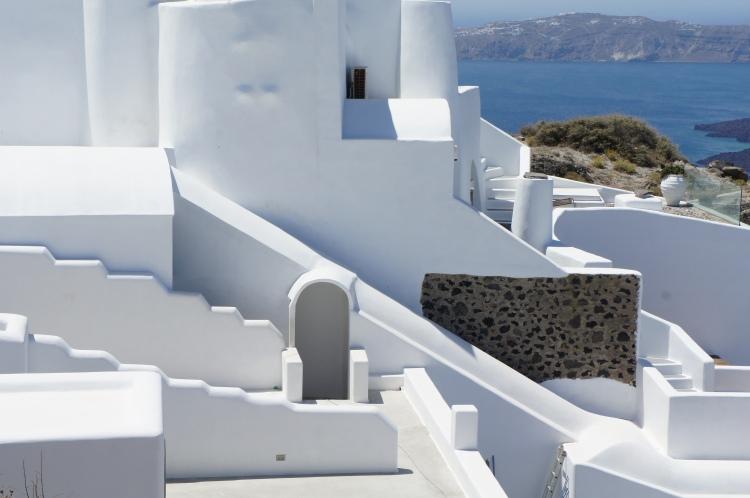 Fira architecture Santorini