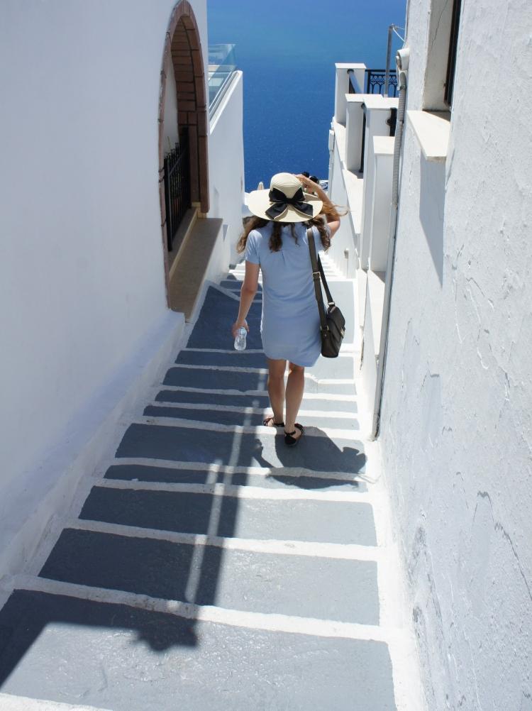 Claire Imaginarium in Santorini
