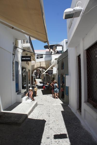 Fira street Santorini