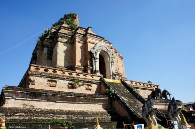 Thailand Chiang Mai Wat Chedi Luang