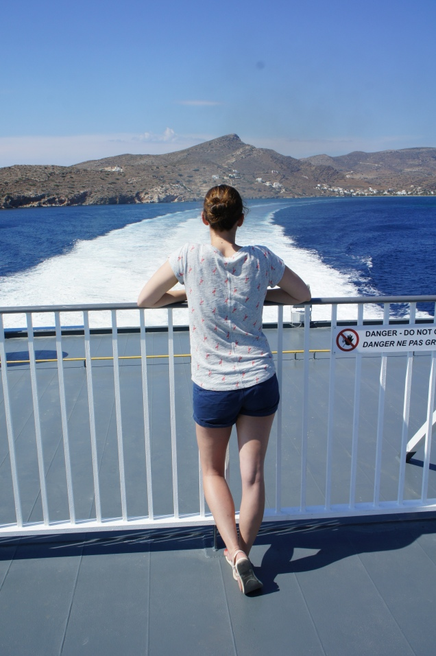 Claire Imaginarium island hopping in Greece - the Cyclades