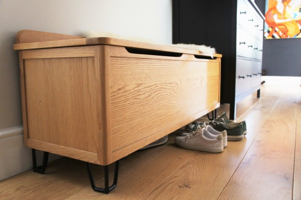 Heal's Brunel blanket box