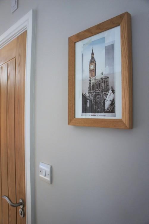 Entry hall wall art