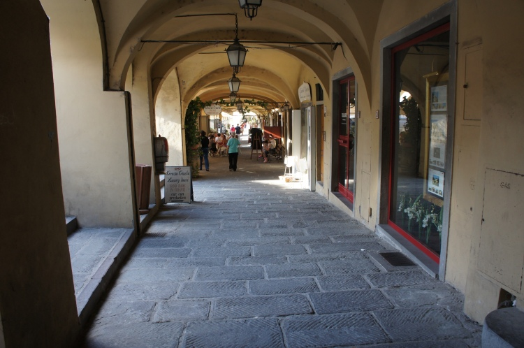 Greve in Chianti archway