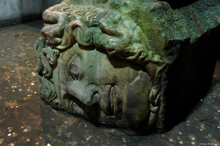 Medusa Basilica Cistern Istanbul