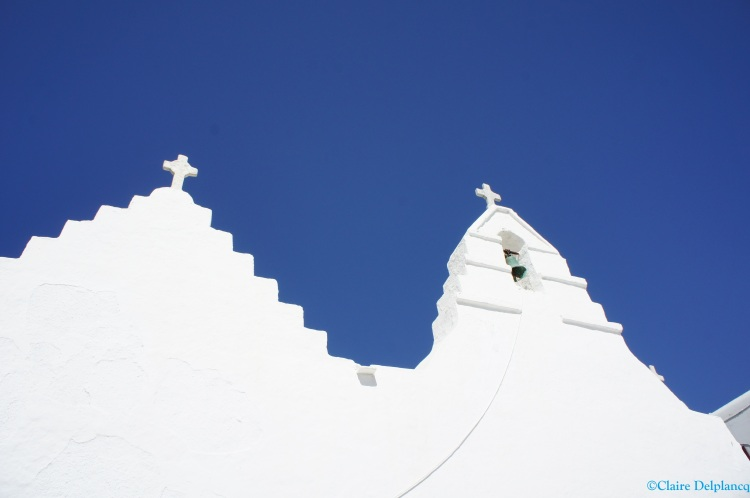 Mykonos church architecture