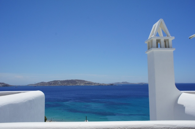 View from Grace Hotel Mykonos