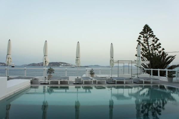 Grace Hotel Mykonos swimming pool