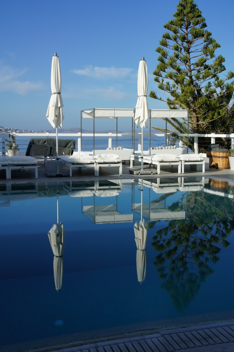 Swimming pool at Grace Hotel Mykonos