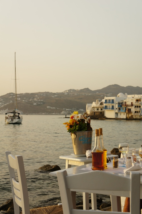 Terrace in Mykonos