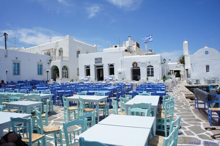 Terrace Naoussa Paros