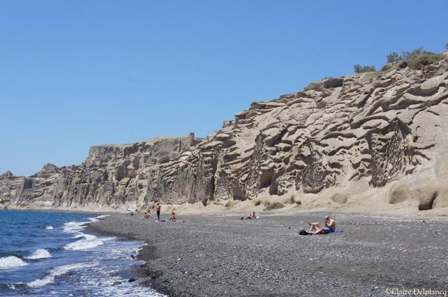 Vlychada beach Santorini