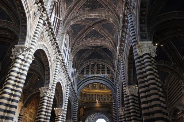 Siena cathedral interior