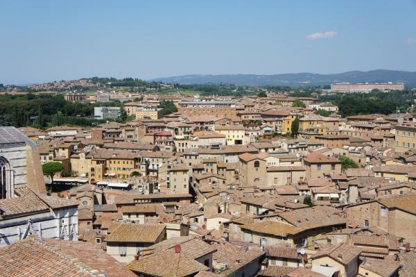Museo dell'Opera metropolitana del Duomo view Siena