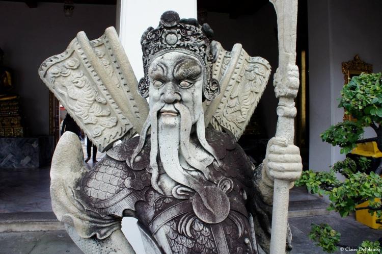 Bangkok stone guard Thailand