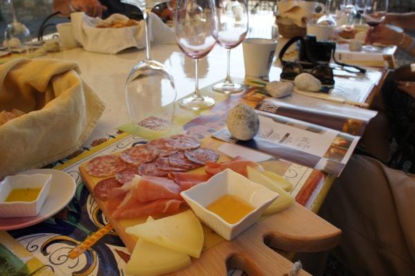 Cheese meat platters Viticcio