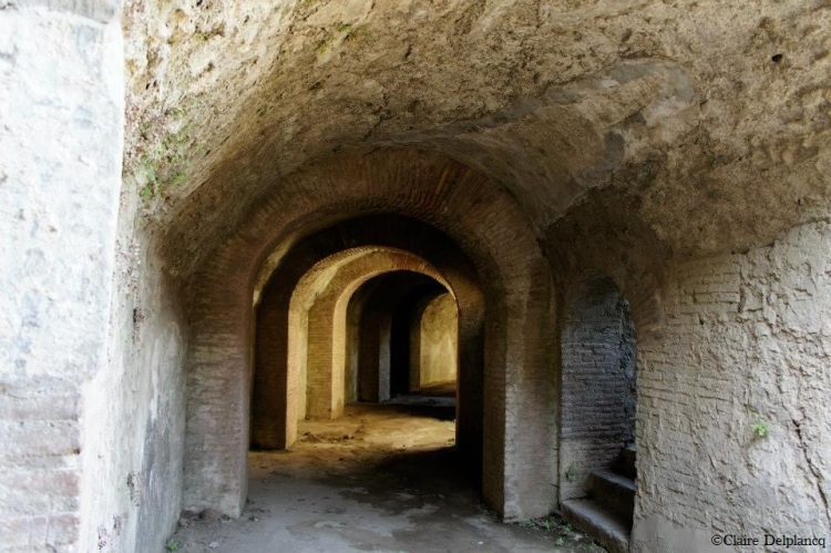 Tunnel in Pompeii