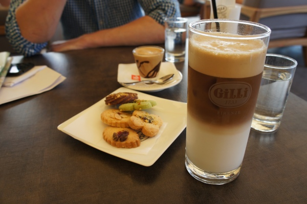 Gilli coffee Florence