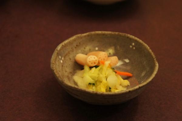 Pickled vegetables Imahan Tokyo