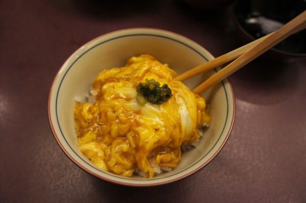 Egg and rice Imahan Tokyo