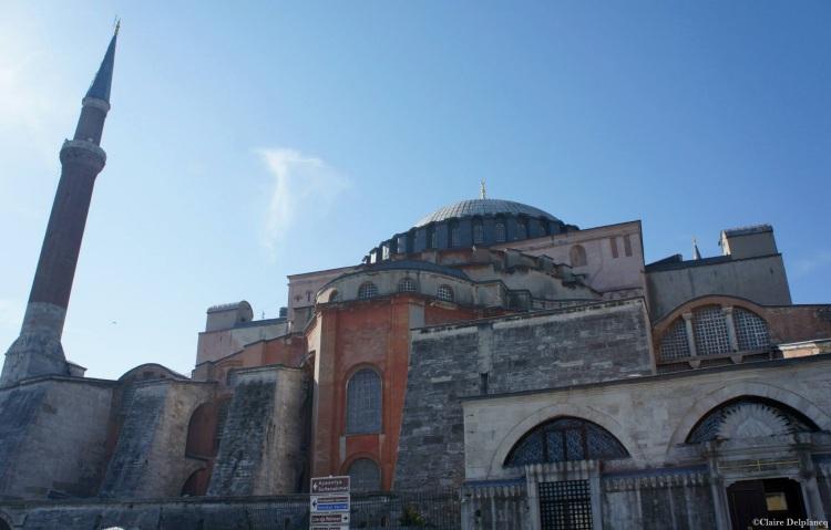 Hagia Sophia outside Istanbul