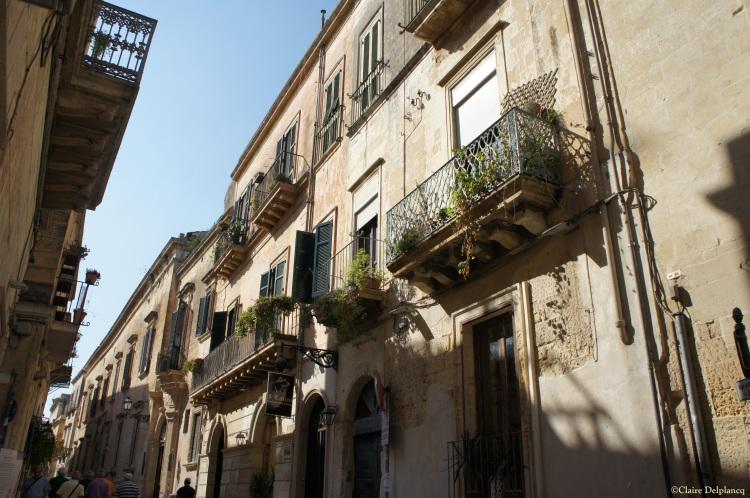 Lecce street Puglia