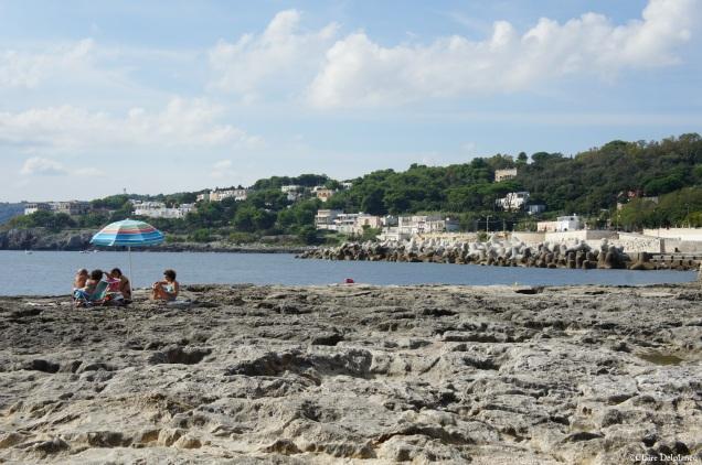 Tricase Porto beach
