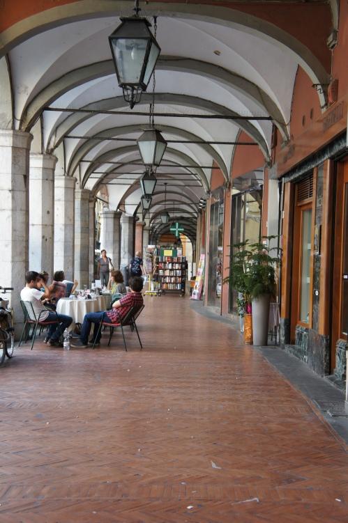 Pisa archway