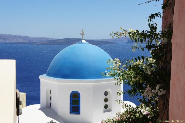 Oia Church Santorini