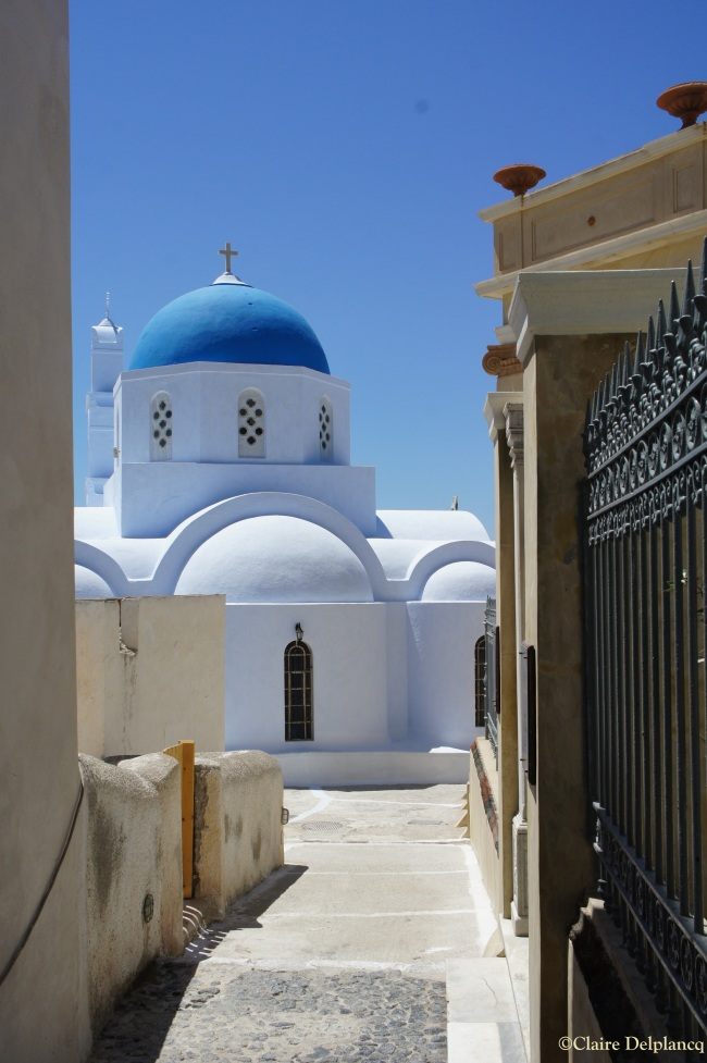 Pyrgos church Santorini