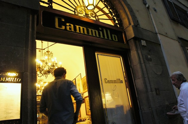 Trattorio Cammillo outside Florence