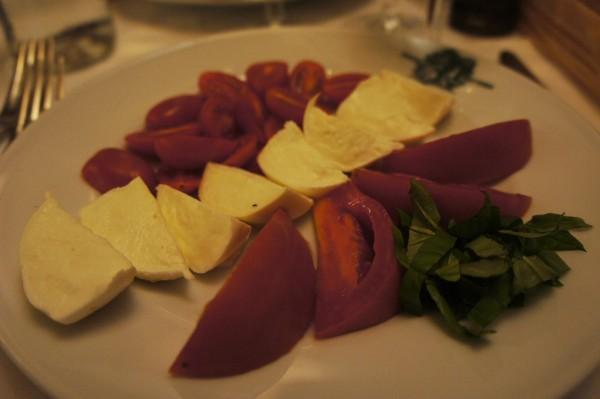 Trattoria Cammillo caprese salad