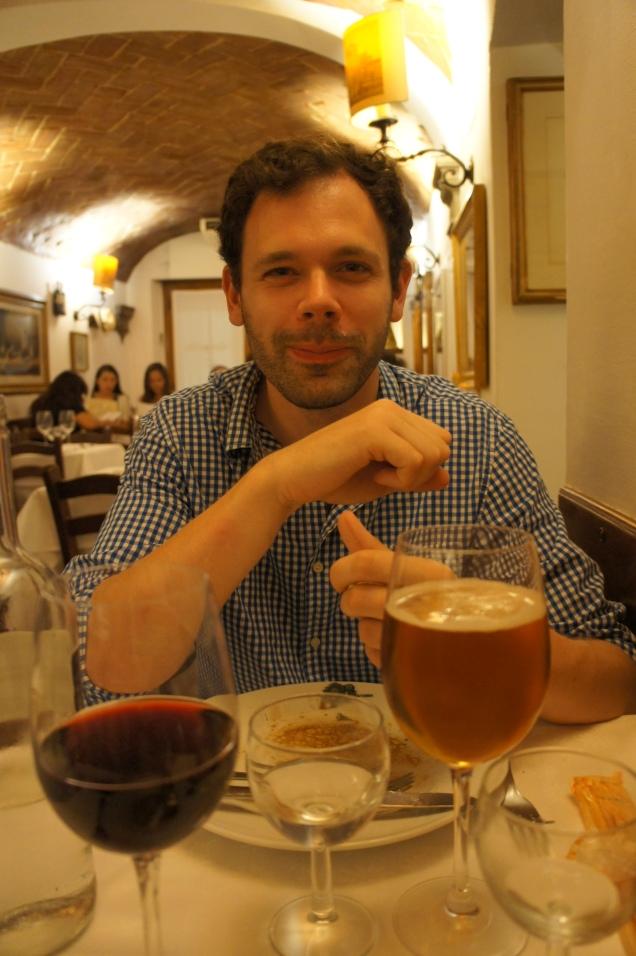 Claire Imaginarium Trattoria Cammillo before