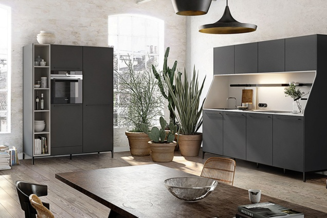 Dark kitchen inspiration