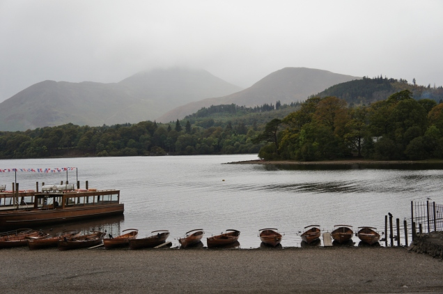Rowing boats Lake District