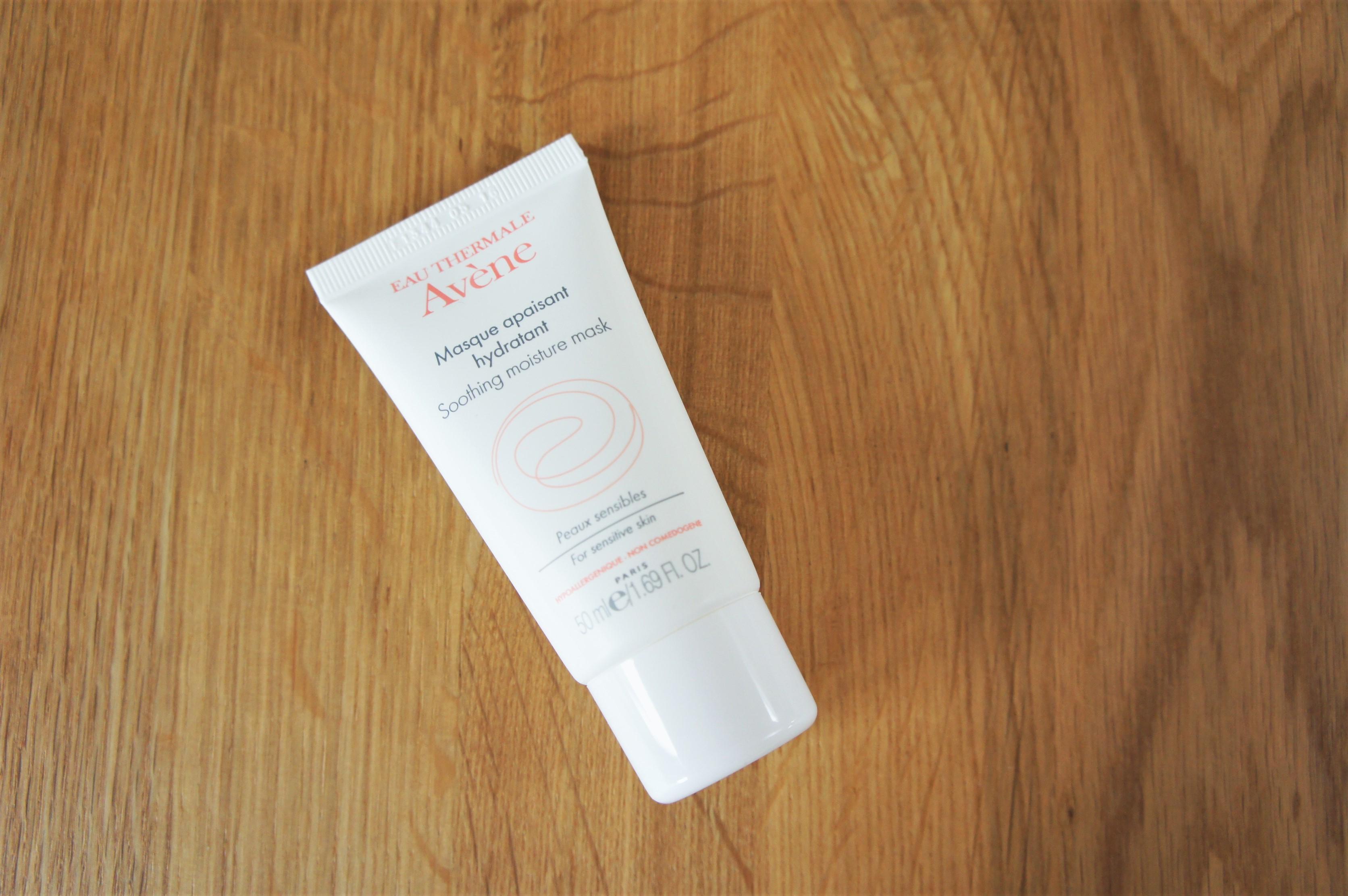 Avene soothing moisture mask
