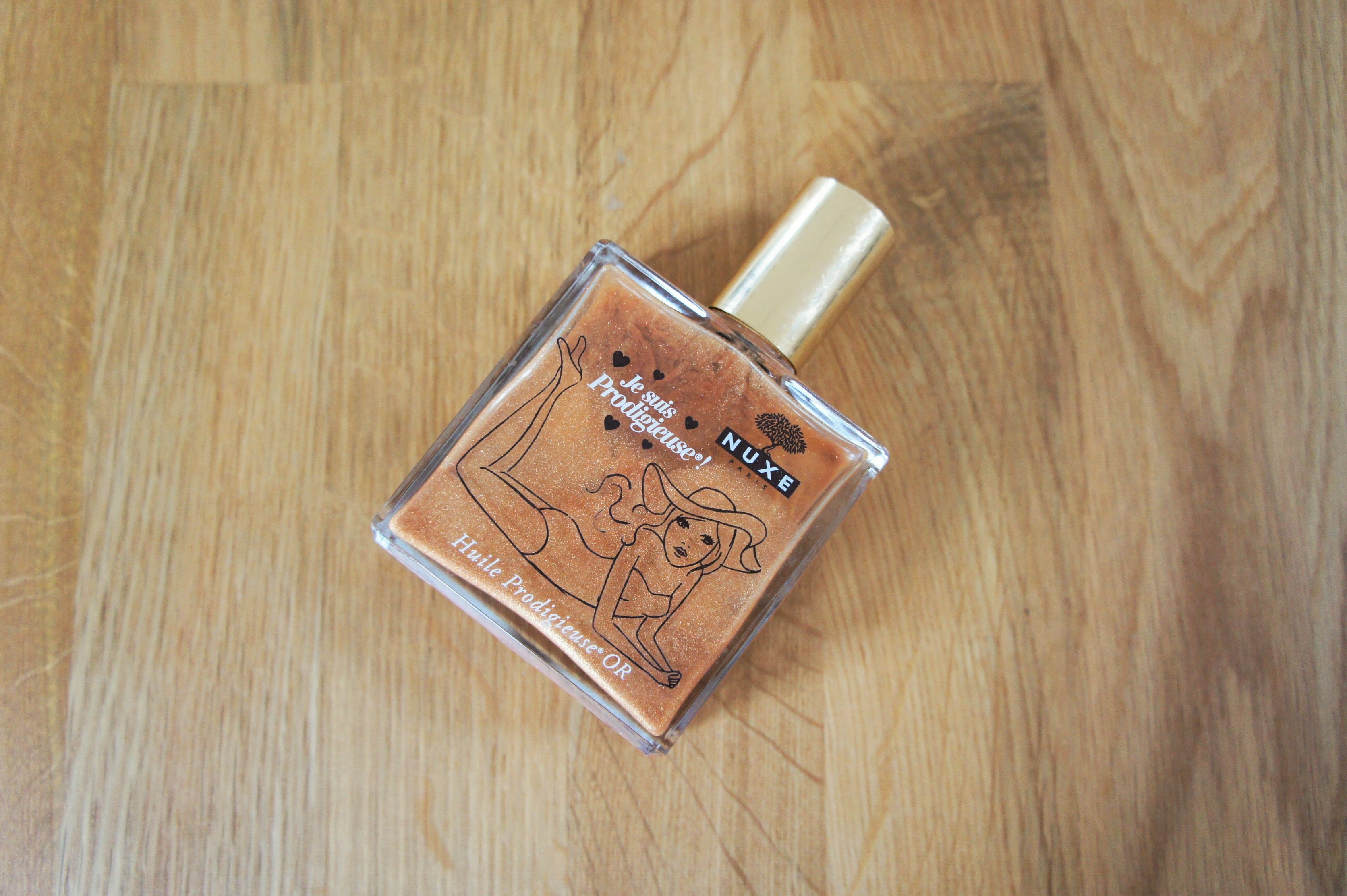 Nuxe huile prodigieuse shimmering