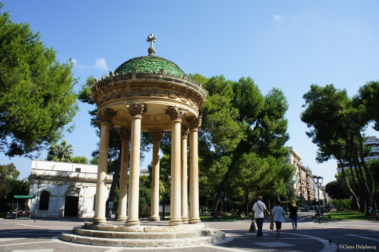 Bandstand in Lecce park