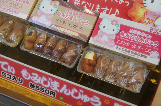 Japanese Hello Kitty pastries
