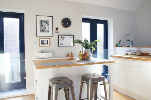 Kitchen island Stenstorp from Ikea