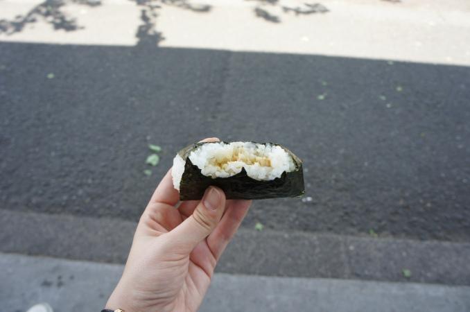 Onigiri Tuna Mayo