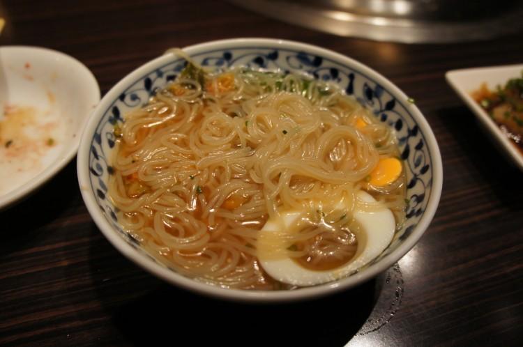 Cold noodles Tsurugyu
